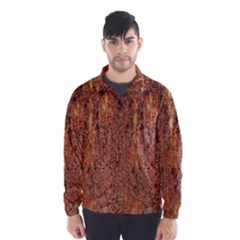 Flaky Rusting Metal Wind Breaker (men)