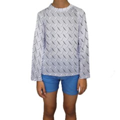 DIAMOND PLATE Kid s Long Sleeve Swimwear