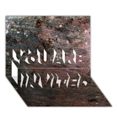 CORROSION 2 YOU ARE INVITED 3D Greeting Card (7x5)