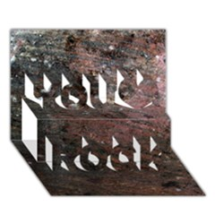 Corrosion 2 You Rock 3d Greeting Card (7x5)