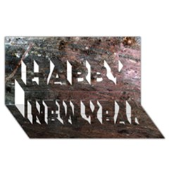 Corrosion 2 Happy New Year 3d Greeting Card (8x4)