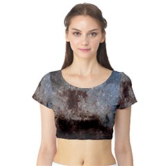 CORROSION 1 Short Sleeve Crop Top