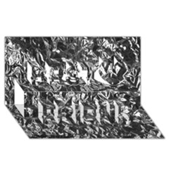 Aluminum Foil Best Friends 3d Greeting Card (8x4)