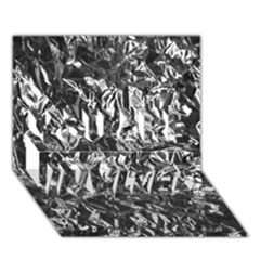 ALUMINUM FOIL YOU ARE INVITED 3D Greeting Card (7x5)