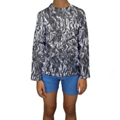 ALUMINUM FOIL Kid s Long Sleeve Swimwear