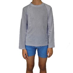 GREY SUEDE Kid s Long Sleeve Swimwear