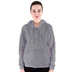 GREY SUEDE Women s Zipper Hoodies