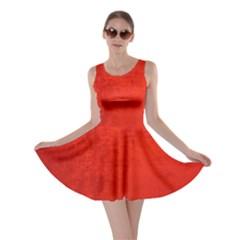 CRUSHED RED VELVET Skater Dresses