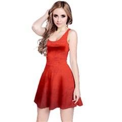CRUSHED RED VELVET Reversible Sleeveless Dresses