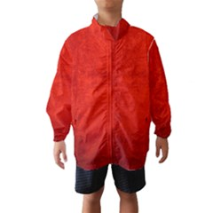 CRUSHED RED VELVET Wind Breaker (Kids)