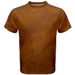 Brushed Suede Texture Men s Cotton Tees