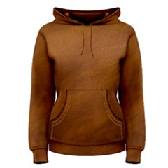 BRUSHED SUEDE TEXTURE Women s Pullover Hoodies