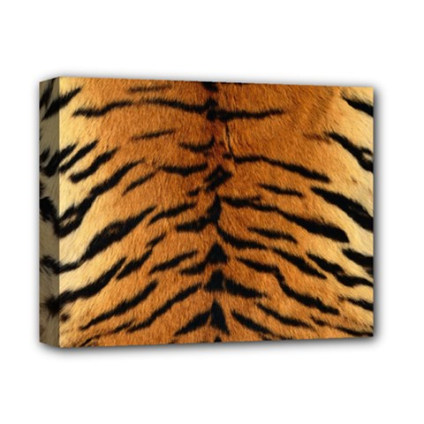 TIGER FUR Deluxe Canvas 14  x 11