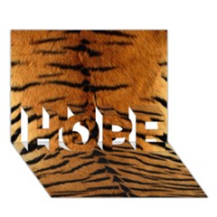 TIGER FUR HOPE 3D Greeting Card (7x5)