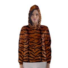 TIGER FUR Hooded Wind Breaker (Women)