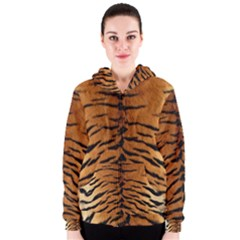 TIGER FUR Women s Zipper Hoodies