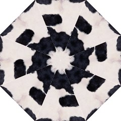 SPOTTED COW HIDE Straight Umbrellas