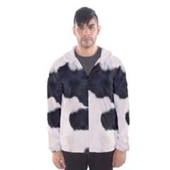 Spotted Cow Hide Hooded Wind Breaker (men)