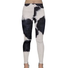 SPOTTED COW HIDE Yoga Leggings