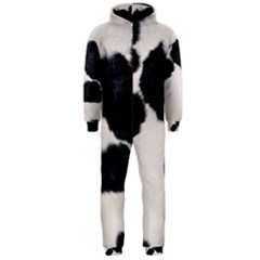 SPOTTED COW HIDE Hooded Jumpsuit (Men)