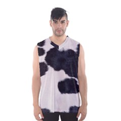 SPOTTED COW HIDE Men s Basketball Tank Top