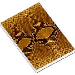 Snake Skin Large Memo Pads