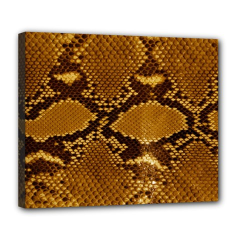 SNAKE SKIN Deluxe Canvas 24  x 20