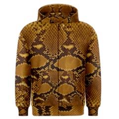SNAKE SKIN Men s Zipper Hoodies