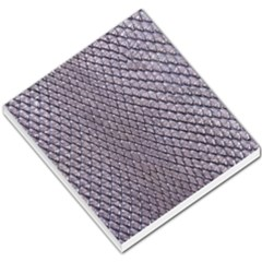 Silver Snake Skin Small Memo Pads