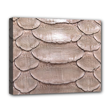 SCALY LEATHER Deluxe Canvas 20  x 16