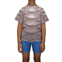 SCALY LEATHER Kid s Short Sleeve Swimwear