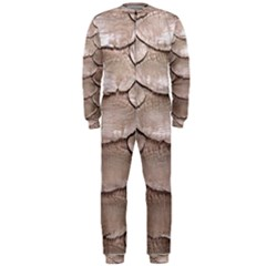 SCALY LEATHER OnePiece Jumpsuit (Men)