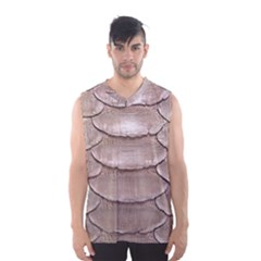 SCALY LEATHER Men s Basketball Tank Top