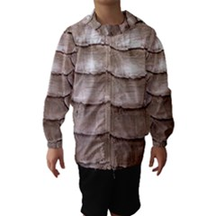 SCALY LEATHER Hooded Wind Breaker (Kids)