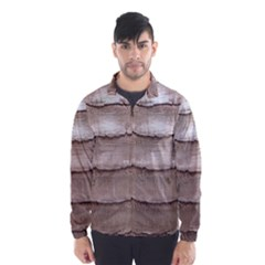 Scaly Leather Wind Breaker (men)