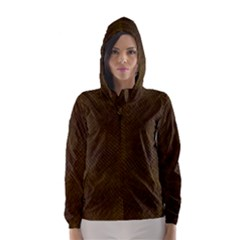 REPTILE SKIN Hooded Wind Breaker (Women)