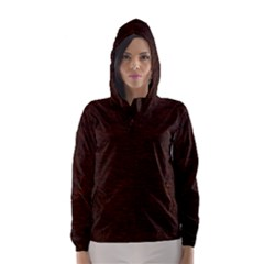 Reddish Brown Fur Hooded Wind Breaker (women)