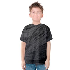 LONG HAIRED BLACK CAT FUR Kid s Cotton Tee