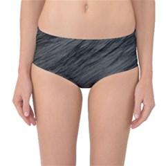 Mid-Waist Bikini Bottoms