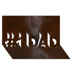 Horse Fur #1 Dad 3d Greeting Card (8x4)