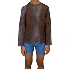 HORSE FUR Kid s Long Sleeve Swimwear