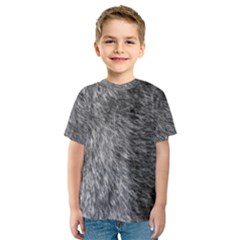 GREY WOLF FUR Kid s Sport Mesh Tees