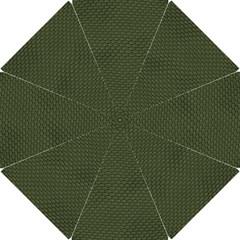 GREEN REPTILE SKIN Hook Handle Umbrellas (Small)