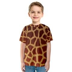 Giraffe Hide Kid s Sport Mesh Tees