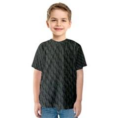 DARK GREEN SCALES Kid s Sport Mesh Tees