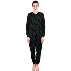 DARK GREEN SCALES OnePiece Jumpsuit (Ladies)