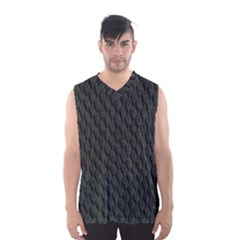 Dark Green Scales Men s Basketball Tank Top
