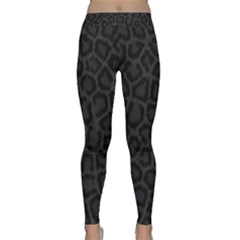 BLACK LEOPARD PRINT Yoga Leggings