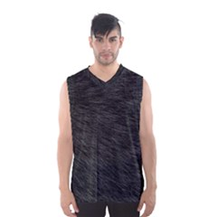 BLACK CAT FUR Men s Basketball Tank Top
