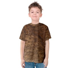 Bear Fur Kid s Cotton Tee